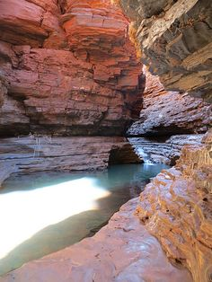 Kermit's Pool, Hancock Gorge, Karijini National Park, Western Australia - awesome treks/hiking. (Photo: J.Heenan)
