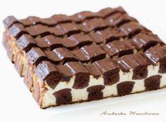Arabeska : Sernik – szachownica Mary Berry, Sweet Cookies, Biscotti, Cheesecake, Berries, Food And Drink, Yummy Food, Cakes, Baking
