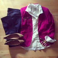 sequin tank, pink blazer, layers, leopard flats, work wear, professional, office outfit | IG: @whitecoatwardrobe