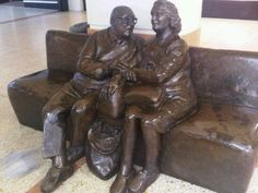 The old couple in the Kingdom Centre