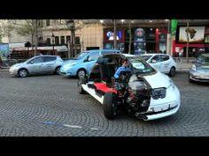 Nissan Leaf @ Paris marathon