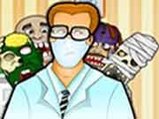 Zombies at Dentist    Here is a chance for you to take dental care of the zombies. They have come to your clinic for treatment. So treat all the problems, remove decayed teeth, germs and give them back their ghoulish smile. Have Fun!! Use mouse to interact  http://ezarcade.net/games/zombies-at-dentist/