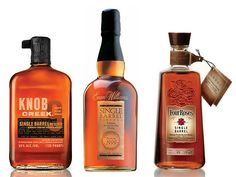 The Knob Creek Single Barrel Reserve was spicier, more robust. The Willet 9 Year Single Barrel had an enhanced raisiny depth. And the Evan Williams Single Barrel added an impressive amount of vanilla to the nose. Barrels Of Whiskey, Whiskey Or Whisky, Whiskey Brands, Bourbon Barrel, Scotch Whiskey, Brands Of Bourbon, Liquor List, Best Bourbons, Liquor Bottles