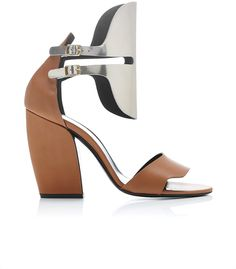 Pierre Hardy Scarpa Leather Open Heels