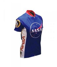 Retro Cycling Jersey Womens - NASA - Retro Image Apparel 588298648
