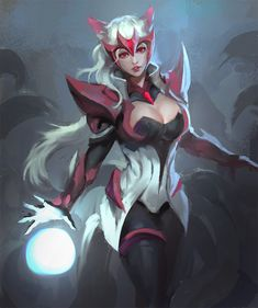ahri by yy6242.deviantart.com on @DeviantArt