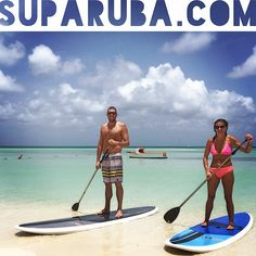 Congratulations on your marriage Jake & Shannon! Thank you for paddleboarding at Stand Up Paddle Aruba again!     www.SUPARUBA.com