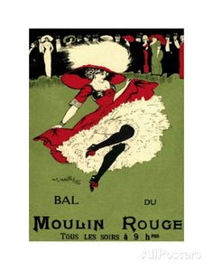 Bal du Moulin Rouge Print at AllPosters.com