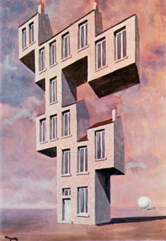 * Rene Magritte - - - Home 🉐💮🉐More At FOSTERGINGER @ Pinterest 🉐💮🈹