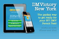DMVictory: NY Permit Practice Test for iPad – App Review