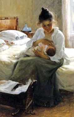 Elin Danielson-Gambogi (1861-1919), Finland: 'Motherhood'