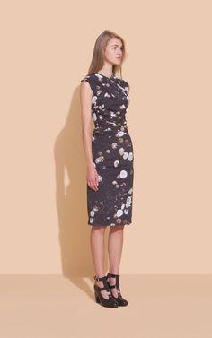 Lovelovelove this Rachel Comey stretch silk dress.  Beautiful print, beautiful drape.