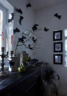 Fledermaus-Alarm in der Zimmerecke! Wir zeigen Schritt für Schritt, wie Sie rechtzeitig zu Halloween die Papier-Fledermäuse selbst basteln