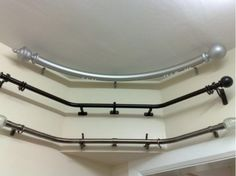 Bendable Curtain Rods for Bow and Bay Windows