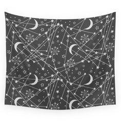 Sun moon stars space Wall Tapestry – famenxtshop