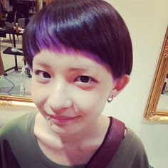 yuki mitsui @micchi045 フェス仕様。#紫...Instagram photo | Websta (Webstagram)