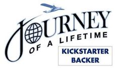 We've created a number of banners for Journey of a Lifetime that can be used to help drive people to the kickstarter page. You can post these on forums, your facebook page, pinterest, use as email signatures, etc. and then link them to our Kickstarter Page athttp://www.kickstarter.com/projects/journeyofalifetime/journey-of-a-lifetime-pilot-episode-reality-travel