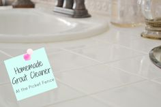 Homemade Grout Cleaner Put to the Test!