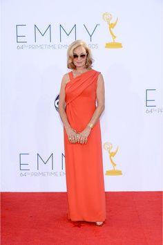 alfombra roja de los premios emmy 2012: Jessica Lange