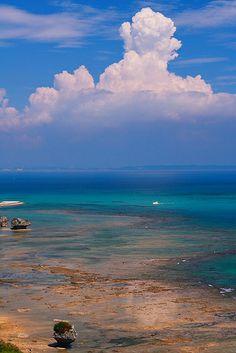 Okinawa-beach, Japan