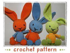 Ravelry: Bunny - Rabbit pattern by Stephanie Risthaus.