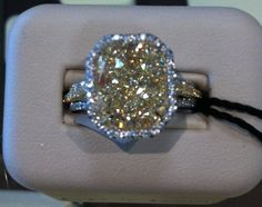 Canary Diamond Ring, Brinker's Evansville IN