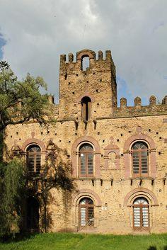 Mentewab's Castle, Gondar, Amhara, Ethiopia