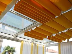Pergola For Small Patio Skylight Covering, Skylight Shade, Skylight Blinds, Skylight Window, Pergola Plans, Pergola Kits, Attic Bedroom Kids, Conservatory Roof Blinds, Modern Skylights