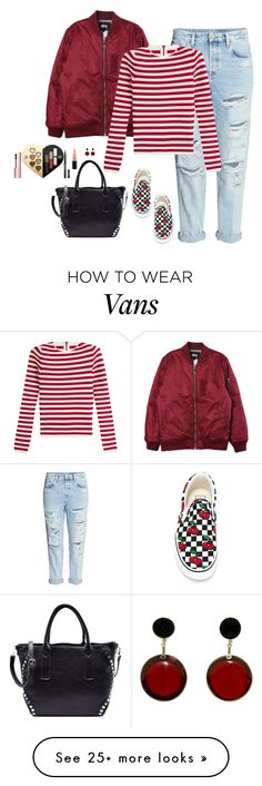 """""""Black Cherry"""" by humblechick1 on Polyvore featuring Stussy, Sonia Rykiel, Vans, Marni, MAC Cosmetics and Ultimate"""