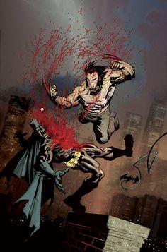 Batman V Wolverine