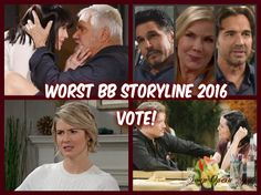 The Bold and the Beautiful (B&B) has had an interesting year, but some of the stories that stick in our head are not remembered in a good way and other stories are so repetitive that fans are just bored. B&B's Brooke Logan (Katherine Kelly Lang) has been bouncing between two men who absolut