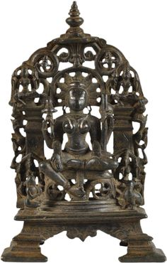 From the Western Chalukya dynasty, Chalukya Dynasty, Indian Temple, Buddha Statues, Bronze Sculpture, Indian Art, Goddesses, Character Art, Fire, Ceiling Lights
