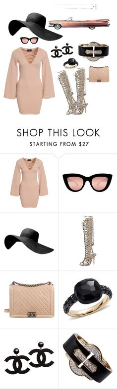 """""""Sheba Baby!"""" by dlc18424 ❤ liked on Polyvore featuring AX Paris, Quay, Sophia Webster, Biarritz, Chanel, Pomellato and David Webb"""