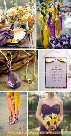 yellow and violet purple fall wedding colors Space Wedding, Dream Wedding, Wedding Day, Wedding Vows, Wedding Blog, Wedding Cards, Diy Wedding, Wedding Dresses, Fall Wedding Colors