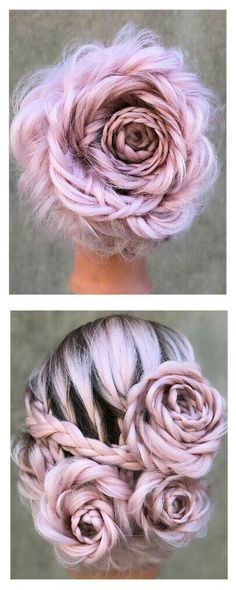 How To Do A Rose Braid Hairstyle For Yourself