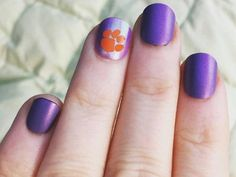Excited to share this item from my shop: Mini Nail decals Tiger paws (Clemson & LSU Tigers) Manicure / Pedicure Art Tiger Nail Art, Tiger Nails, Nail Decals, Yeti Decals, Vinyl Decals, Square Acrylic Nails, Tiger Paw, Pedicure Nail Art, Lsu Tigers