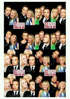 Photobooth with his family and friends.