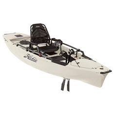 Fish be warned: the newly redesigned Hobie Mirage Pro Angler 14 excels at helping anglers land prizes of every fin, stripe and color. 2 Person Fishing Kayak, Tandem Fishing Kayak, Pedal Kayak, Hobie Kayak, Best Fishing Kayak, Fishing Boats, Fishing Tips, Hobie Pro Angler, Angler Kayak