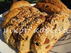 Τι άλλη συνταγή θα μπορούσα να γράψω σήμερα, εκτός από τα ζακυνθινά παξιμάδια; Μια συνταγή από το βιβλίο μου, αφιερωμένη σε όλους τους αναγν... Greek Sweets, Greek Desserts, Greek Recipes, Paximathia Recipe, Greek Cake, Cyprus Food, Food Network Recipes, Cooking Recipes, Greek Cookies