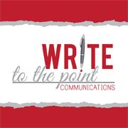 Write to the Point Communications - Health writer and blogger Like this.