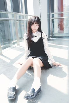 Best 11 Beautiful Girl like Fashition Cute Asian Girls, Beautiful Asian Girls, Sweet Girls, Cute Girls, Kids Girls, School Girl Japan, Japan Girl, Girls School, Mode Outfits