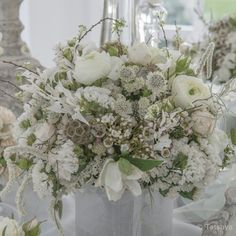 """""""The #colour is #white, in every shade #ZitaElze #flowers #photography by Tatsuya Shirai #coutureflowers #floralart #instaflowers #flowersofinstagram…"""""""