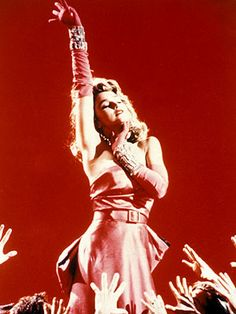 Material Girl was my favorite Madonna song and video.  I totally wanted that dress.