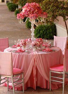 ROMANTIQUE WEDDING RECEPTION DECORATIONS | Table Linen Decoration Ideas | Weddings Romantique