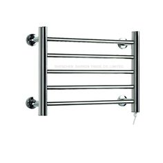 63.50$  Buy here - http://ali9rs.worldwells.pw/go.php?t=32635473997 - 1pc Heated Towel Rail Holder Bathroom AccessoriesTowel Rack Stainless Steel ElectricTowel Warmer Towel Dryer & Heater Banheiro