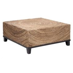Concentric Coffee Table from Z Gallerie -- less than half the price and firmly in beach/vacation land