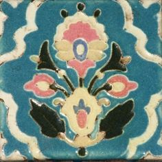 For those of you buried in snow (again) this cheery floral from Claycraft Potteries (Los Angeles, CA) is a reminder that spring really does exist and is around the corner. Hang in there! www.tileheritage.org