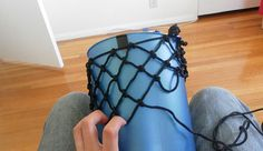 How to make a drawstring pouch from Paracord