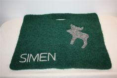 Sitteunderlag - www.tilnytteogglede.com Seat Pads, Rugs, Knitting, Decor, Farmhouse Rugs, Tricot, Breien, Stricken, Decorating