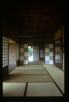 Tea room at Katsura-rikyu, Kyoto, Japan.  I'd like to do this to my living room.  Maybe bedroom.